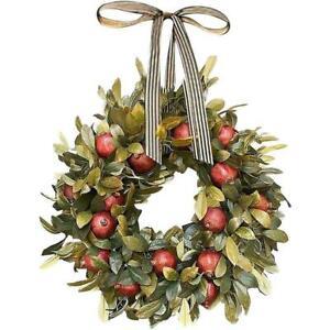 Handmade autumn/fall door wreath with quality silk flowers O4F8