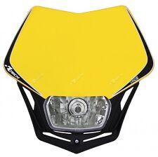 Mascherina Faro Anteriore Moto Universale Rtech V-face Giallo Suzuki Headlight