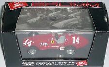 FERRARI 500 F2 GP ITALIA MONZA 7° ASS TARUFFI N° 14 LIMITED EDITION BRUMM 1/43