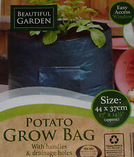 5 x Potato Grow Bag Planter - Grow Your Own POTATOES POTATO Sack Spuds Tub Patio