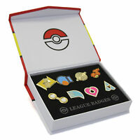 Pokemon Hoenn 8 Metal League Gym Badge Pin Pip Gen 3 Cosplay Prop Collection Set