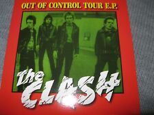 THE CLASH - OUT OF CONTROL TOUR EP FOUR TRACK 7in LIVE IN MANCHESTER 1977 PUNK