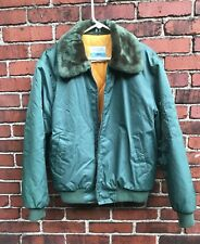 Vintage Sears Work Leisure Quilted Lining Bomber Flight Jacket Made In Japan