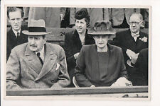 Vintage Postcard King Christian X of Denmark & Queen Alexandrine