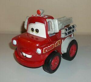 Fisher Price Shake N Go Car - Disney Pixar Cars - Deluxe Rescue Mater Firetruck