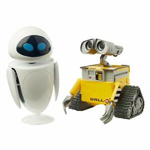 Pixar Wall-E and Eve Character Action Figures Wall-E Movie Toys, Highly