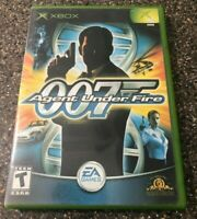 James Bond 007 in Agent Under Fire (Original Microsoft Xbox) Complete Tested