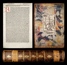 INCUNABLE 1484 BIONDO Decades MEDIEVAL HISTORY ITALY after FALL OF ROMAN EMPIRE