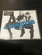 Madonna - 4 Minutes ft Justin Timberlake & Timbaland CD Single Cd 2 - 3 Track