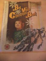 christmas book guide GIFTS COOKERY OLD VINTAGE RETRO 1960S WOMAN MAGAZINE 1969