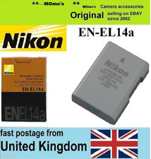 Genuine Original NIKON EN-EL14a Battery CoolPix P7800 P7700 DF D3300 D5300 D5500