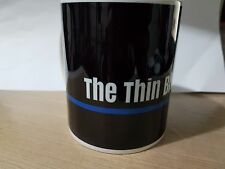 """THIN BLUE LINE"" Police UK 11 oz MUG - free delivery + 10% to COPS Charity V1"