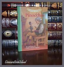 Pinocchio by Carlo Collodi Illustrated Brand New Collectible Gift Hardcover