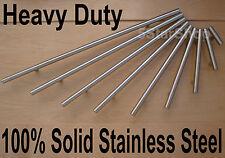 "4"" Modern Stainless Steel Kitchen Cabinet T Bar Pull Handles Handle"