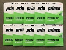 Lot Of 10 PRINCE SYNTHETIC GUT 16 with DURAFLEX Green 16 Gauge 40ft 12.2M STRING