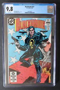 BLACKHAWK #257 Classic WWII Cover by HOWARD CHAYKIN 1983 SPIELBERG Movie CGC 9.8