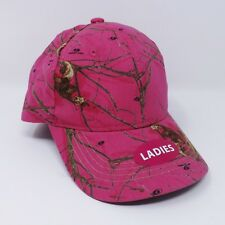 a7728e796e0 Ladies Mossy Oak Pink Camouflage Baseball Cap - New