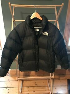 Mens North Face Black Puffer Jacket Small