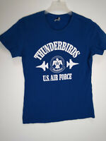Thunderbirds US Air Force Blue Tshirt Size L