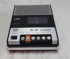 ITT SL 59 automatic  Cassettenrecorder - GEPRÜFT-  ITT Kassettenrekorder SL 59