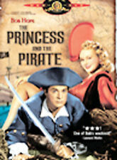 The Princess and the Pirate (DVD, 2005) Leading Role: BOB Hope