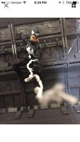 "Marvel Legends Spider-Man Custom Web Effects 12"" & 6"" Set Of 4! Free Shipping"