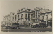 MEXICO CALLE DEL TEATRO NACIONAL 1925 REAL PHOTO