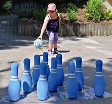 """Bowling Kegel Kegelspiel Soft Kegelspiel 12 Set """"Hohe Qualität"""" 650-96"""
