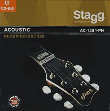 Jeux de 6 Cordes Phosphore Bronze Guitare Accoustique LIGHT