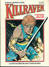 KILLRAVEN by P. Craig Russell (1983) Marvel Graphic Novel #7