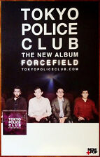 TOKYO POLICE CLUB Forcefield Ltd Ed Discontinued RARE Poster +FREE Rock Poster!