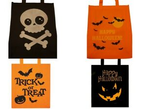 Halloween Bag Trick & Treat Material Reusable Party Bag Tote Lunch Bags 28x34cm