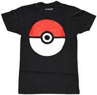Pokemon Trainer Black Men's Graphic T-Shirt New