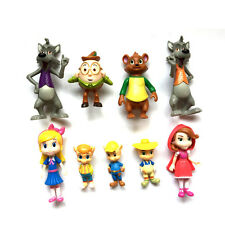 Disney Goldie and Bear 9pc set PVC figure toy doll collection gift new