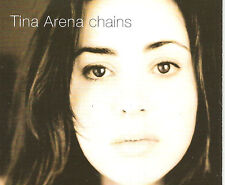TINA ARENA Chains UNRELEASED & MIX TRX Europe CD single SEALED USA seller 1994