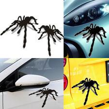 2xCool Spider 3D Three-Dimensional Car Sticker Funny Decor Garland Refit Shape