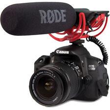 Rode VideoMic-R w/ Rycote Lyre Suspension VideoMic Video Mic for DSLR  NEW!