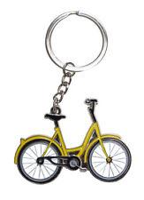 Porte-clés vélo, bijoux de sac vélo jaune pour les fans de cyclisme.