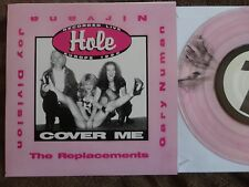"Hole-Cover Me PINK VINYL 7"" Live/'95 songs by Nirvana/Replacements/Joy Division"