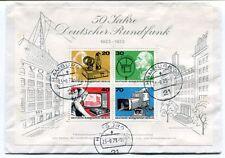 1973 50 Jahre Deutscher Rundfunk Amburg Deutsche Bundespost Berlin SPACE NASA