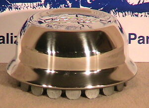 """1928-1929 Model A Ford Stainless Steel Hub Caps. Set of 5 Fits 21"""" Wheels"""