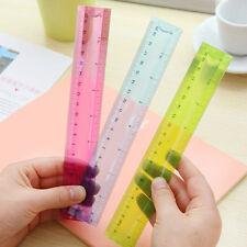 1x Flexible Ruler Rule Measuring Stationery For School Student Random Tool 20cm