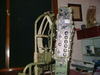 Clansman Military UK RT320/1 GRADE B HF SET ON A NEW CARRYING FRAME AND STRAPS