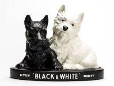 Brentleigh Black & White Whisky Publicidad Terrier Perros