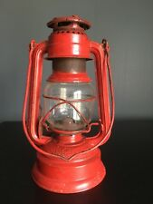 Feuerhand Made in Germany No. 276 vintage red lamp