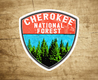 """3"""" Cherokee National Forest Decal Sticker Tennessee South Carolina Vinyl Indoor"""