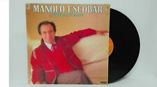 """Manolo Escobar Miel de Amores Vinilo 12"""" LP Año 1985. RCA"""