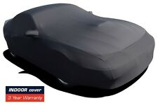 1999-2004 Ford Mustang Indoor Satin Stretch Car Cover Black Onyx