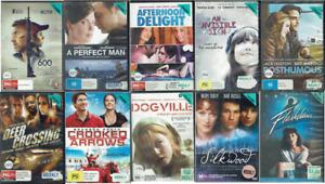 Ex Rental DVD Drama Movies - Region 4