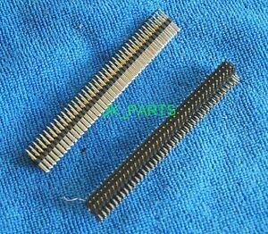 10pcs 2.54mm 3x40P 3x40 Pin Right Angle Male Pin Header Strip